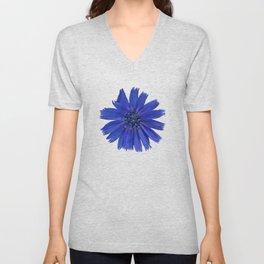 Still life with chicory flower Unisex V-Neck