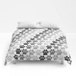 Paw Prints Pattern Comforters