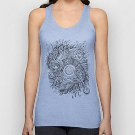 Cat dragon Unisex Tank Top
