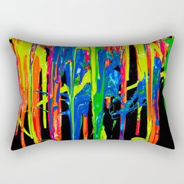 Don't Cry Over Spilled Paint Rectangular Pillow