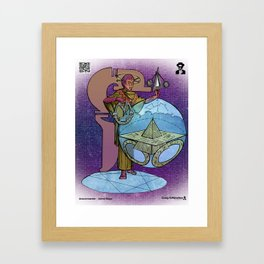 Anaxiomander - Astral Mage Framed Art Print
