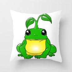 Fantasy toad Throw Pillow