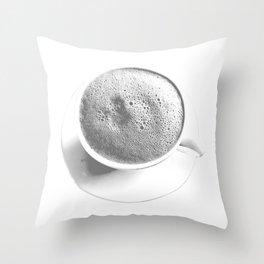 Lunar Brew Throw Pillow