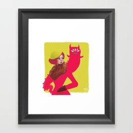 Inner Demon Framed Art Print