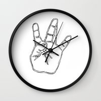 2pac Wall Clocks featuring West Coast //WC  by Gold Blood