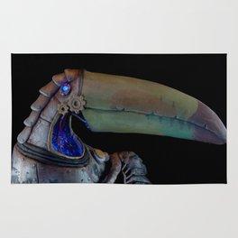 Mechanical Toucan Rug