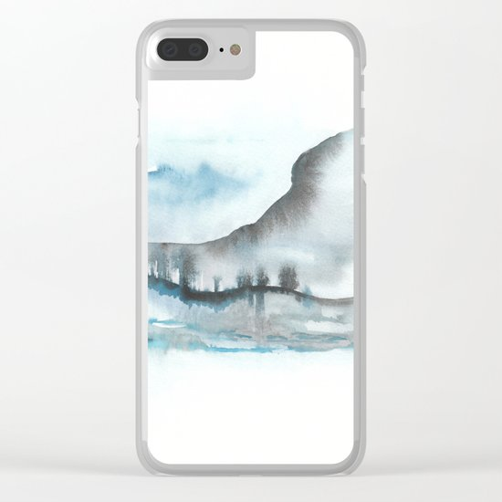A 0 18 Clear iPhone Case