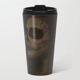 Calavera Metal Travel Mug