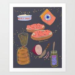 Bagels = Magic Art Print