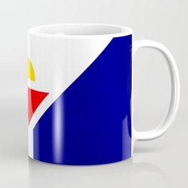 Saint Martin Flag Coffee Mug