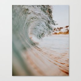 summer waves xiii Canvas Print