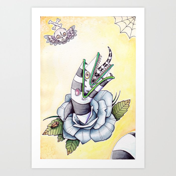 Sandworm Rose Kunstdrucke