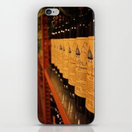 Tuscan Wine Collection - Vino Rosso iPhone Skin