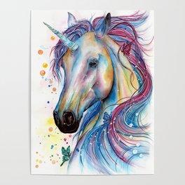 Whimsical Unicorn Poster