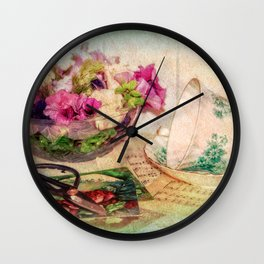 Little Loose Ends Wall Clock