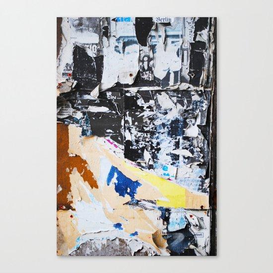Fragmente zerrissen Canvas Print