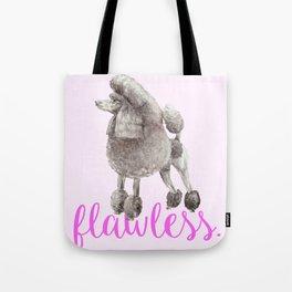 Pretty Poodle Tote Bag