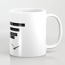 Seagull - Philosophy of LIFE Coffee Mug