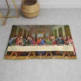 Jesus Last Supper Rug