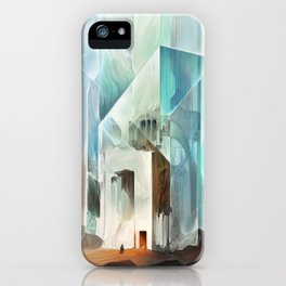 The Crystal-Flesh Hermitage iPhone Case