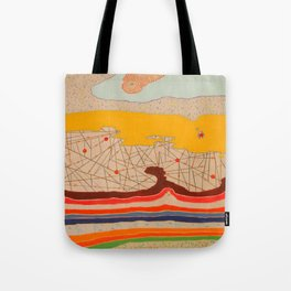 obstructions Tote Bag