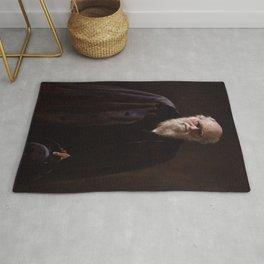 John Collier - Charles Robert Darwin Rug