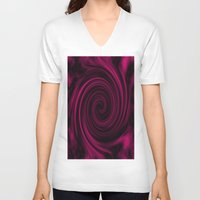 graphic design V-neck T-shirts featuring Graphic Design by ArtSchool