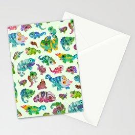 Chameleon - bright Stationery Cards