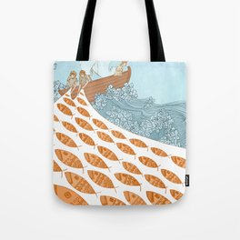 Leave Your Nets Tote Bag