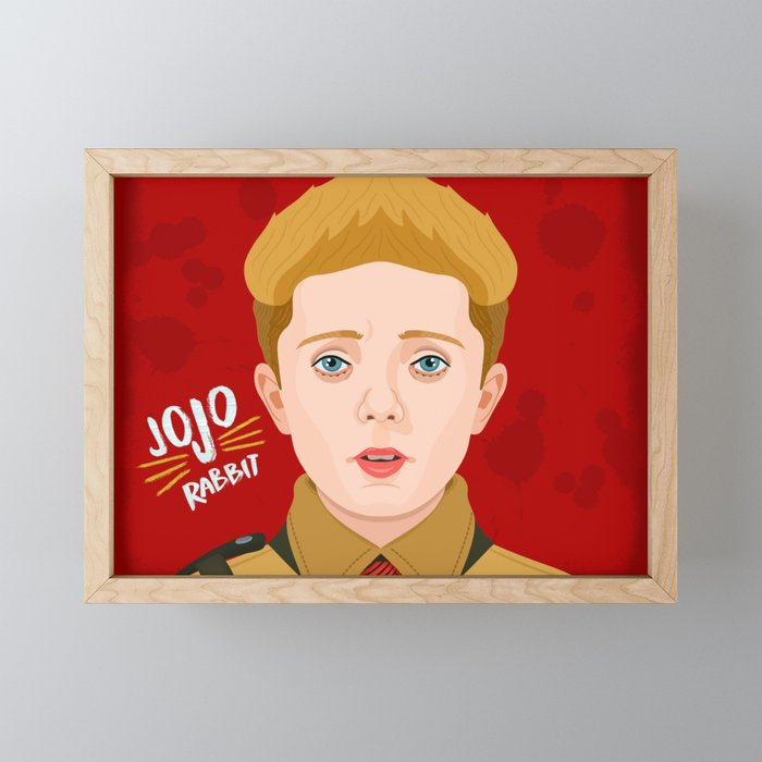 JoJo Rabbit Framed Mini Art Print