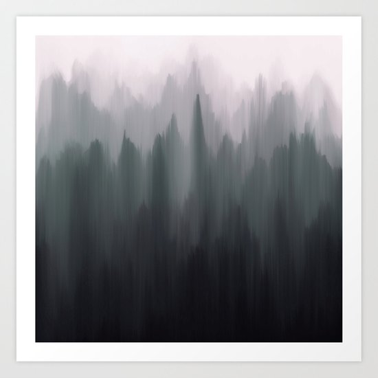 Morning Fog II Art Print