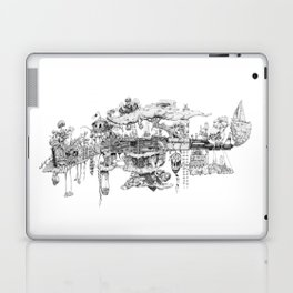 This Is Your Gun On Drugs Laptop & iPad Skin