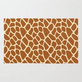 Giraffe Animal Print Pattern Rug