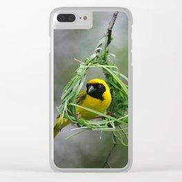 BAYA WEAVER Clear iPhone Case