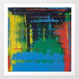 Color Chrome Art Print