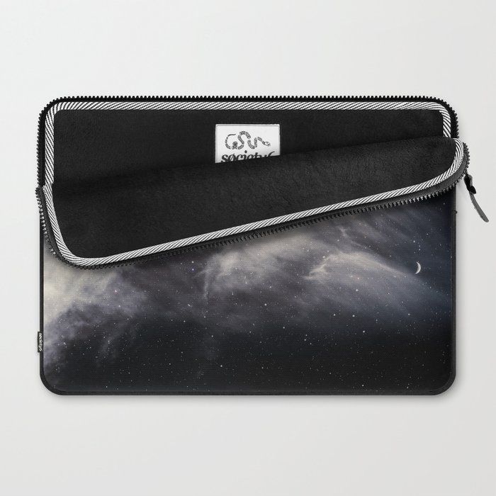 Moon and Clouds Laptop Sleeve