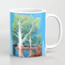 Riverbank Trees Coffee Mug