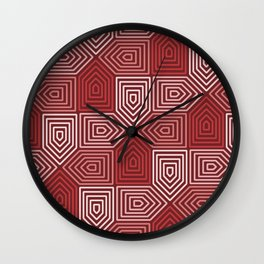 Op Art 125 Wall Clock