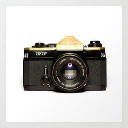 Canon Camera EF Style Art Print