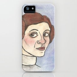 Space Princess iPhone Case