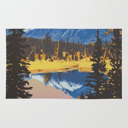 Kluane National Park and Reserve Rug