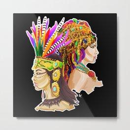 Aztec / Berber Metal Print