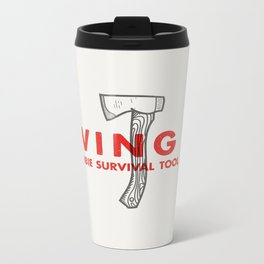 Swing it - Zombie Survival Tools Metal Travel Mug