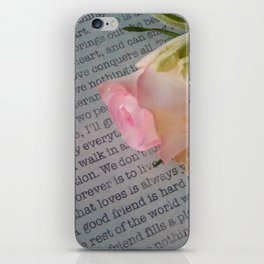 Words Cannot Express My Love For You iPhone Skin