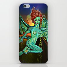 Iris,  dragon's daughter iPhone & iPod Skin