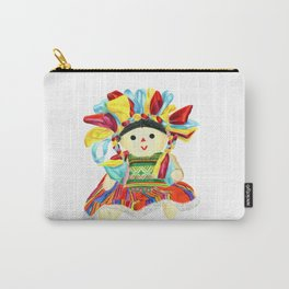 Mexican doll Carry-All Pouch