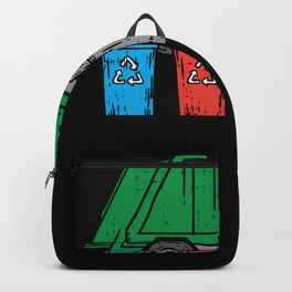 Garbage Truck - Gift Backpack