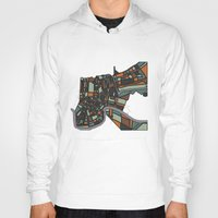 new orleans Hoodies featuring New Orleans by BigRedSharks