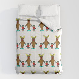 Cute christmas buddies pattern Comforters