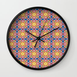 Sweet Sarong Wall Clock